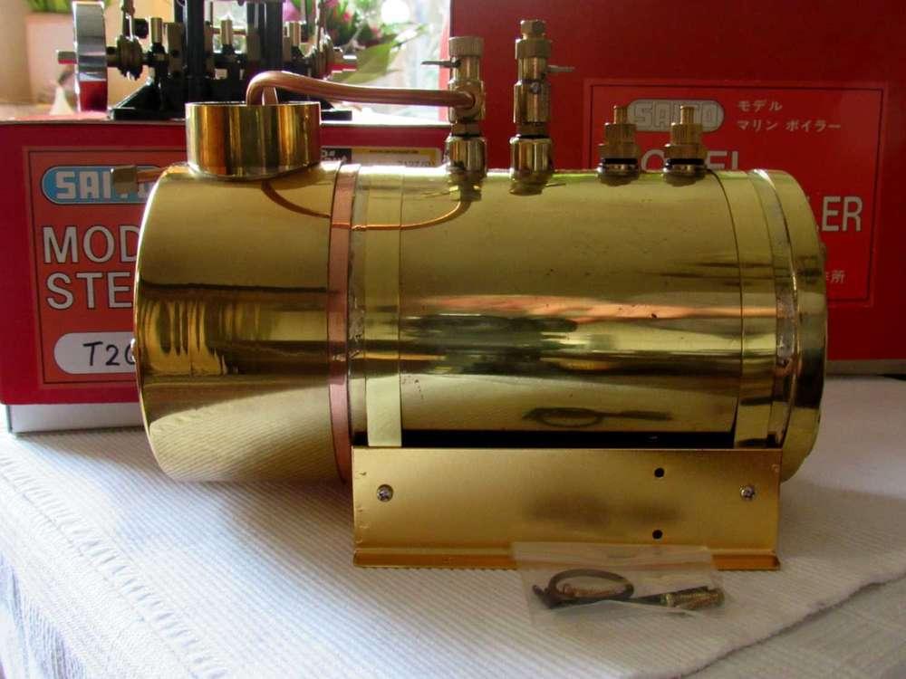 Dampfkessel und Brenner - Elde-Modellbau