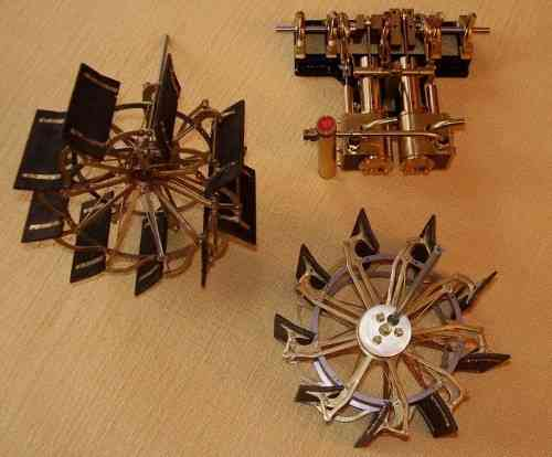 Paddle wheels scale 1 : 25 -  Pre-assembled