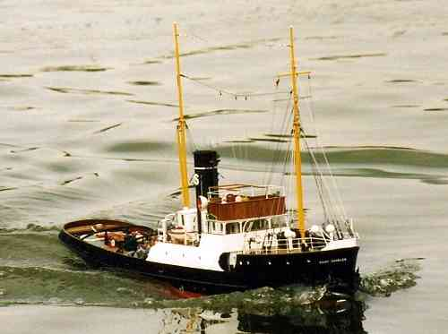 "Steam tug ""Saint Charles"" included fittings"