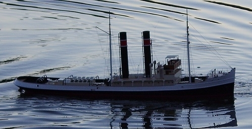 "Steam tug ""Maquereau"" included fittings"