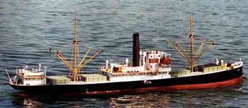 "Steam ship ""Loire"" included fittings"