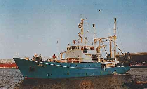 "Fishing and research vessels ""Yemoja"" incl. Fittings"