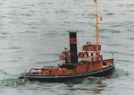 "Steam tug ""Moulay Idriss"" included fittings"